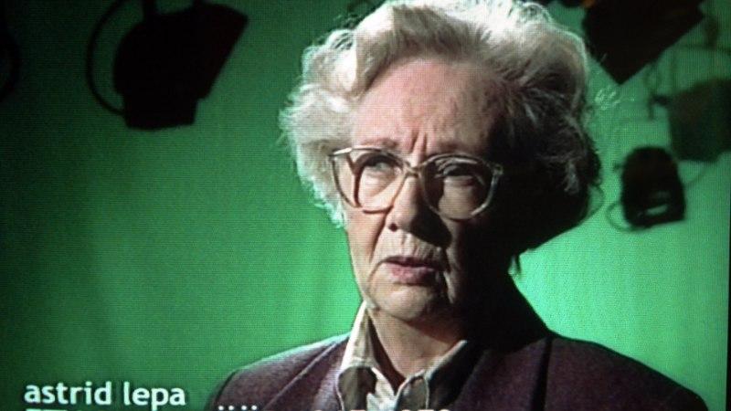 Suri näitleja ja telerežissöör Astrid Lepa