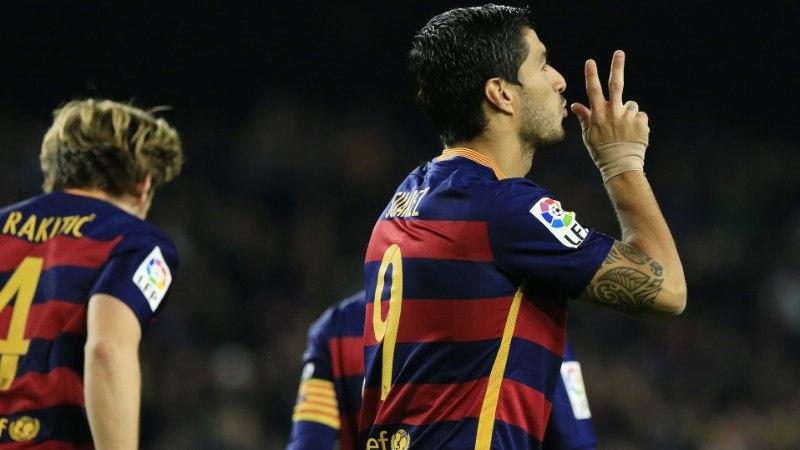 Neymar eksis penaltil, ent Barcelona purustas Hispaania väravarekordi