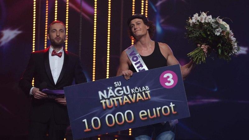 Näosaate võitnud Juss Haasma: aitäh teile kõigile!