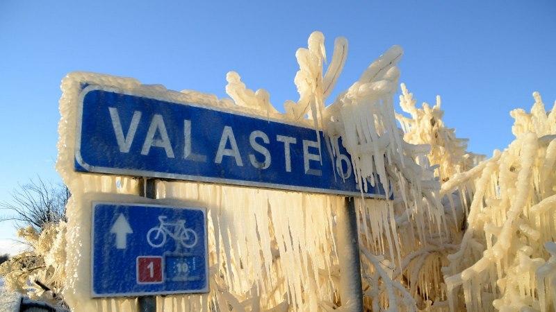 Avasta Eestimaad: kõige kaunim vaatepilt - jäälossid jugadele