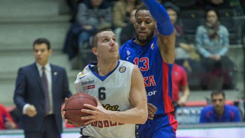 VIDEO: CSKA tõi Tallinnasse Euroopa tippkorvpalli