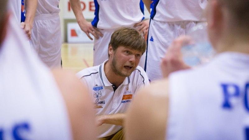 Audentese peatreener Indrek Visnapuu tunneb uhkust: meie vastu ei tulda enam poole kõvaga!