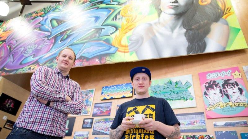 Grafitikunstnik: et pihustivärviga ilusaid jooni tõmmata, peab aastaid harjutama
