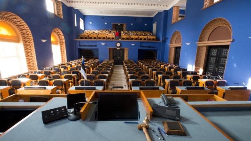 GRAAFIK: kes on kõige noorem ja vanem riigikogusse valitu?