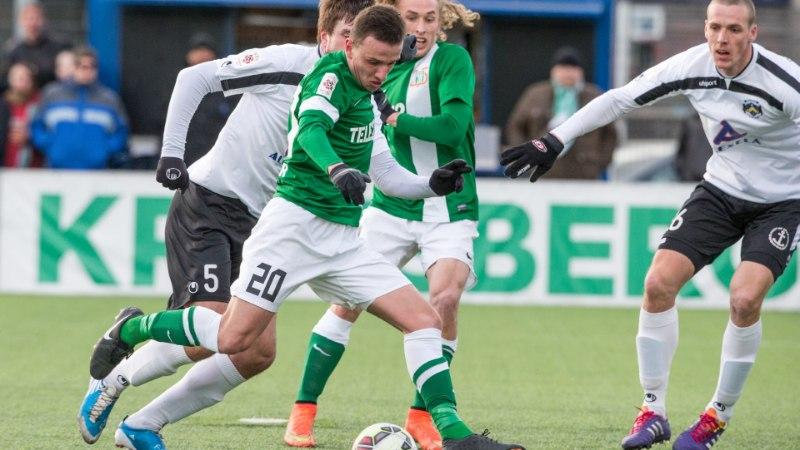 GALERII: Sillamäe Kalevist jagu saanud FC Flora jätkab täiseduga