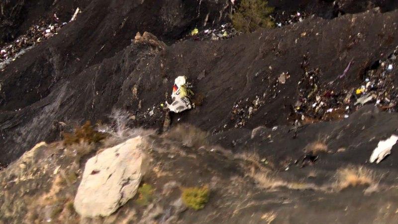 Germanwingsi lennuki teine must kast leitud