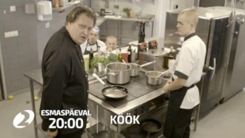 """""""KÖÖK"""": intriigid podisevad täie auruga köögis, elutoas ja magamistoas!"""