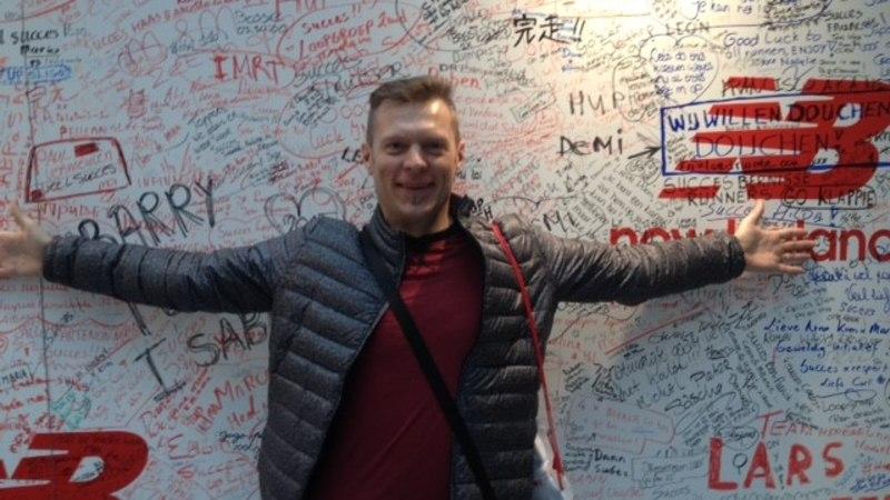 Valdo Jahilo: Rotterdami maraton – osales ka trikimees Jürgen Veber
