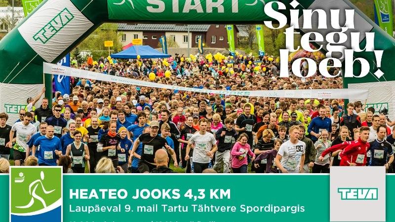 Heateo jooksud on aidanud võimlema ligi 70 liigesehaige lapse