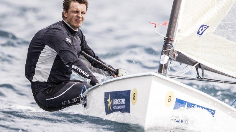 Deniss Karpak on purjetamise EM-il endiselt kõrges mängus