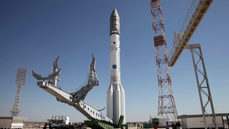 Vene raketikandja kukkus kohe pärast starti alla