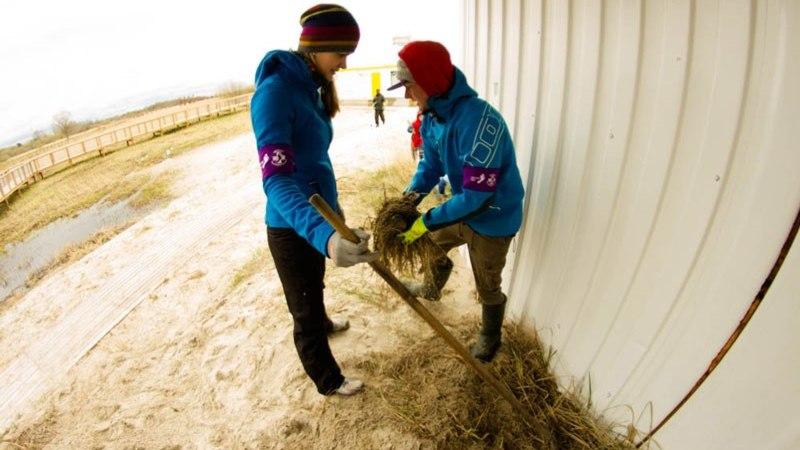 FOTOD: Talgulised rehitsesid Pärnu ja Reiu randa
