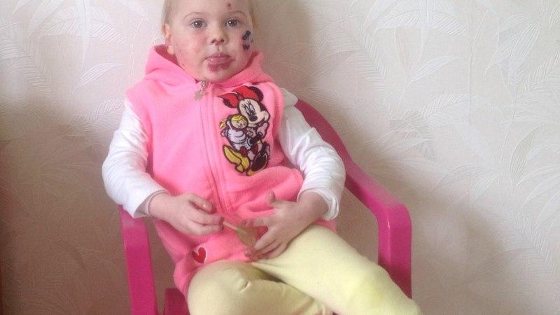 Lastefond: aidakem 2aastane Cassandra ravireisile Inglismaale!