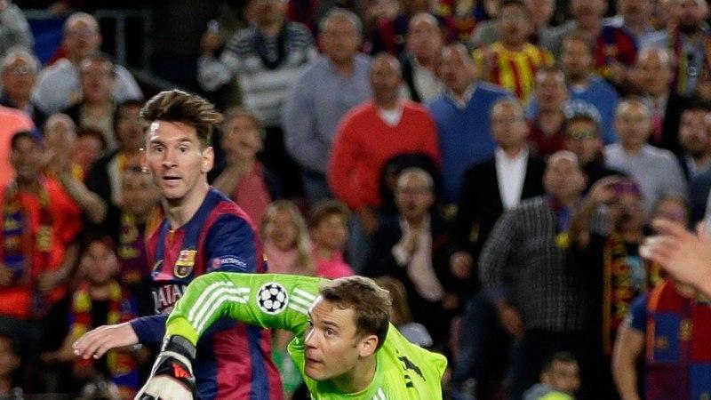 Jalgpallimaailm ülistab Lionel Messit