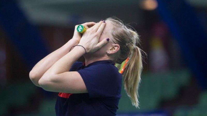 Euroopa mängud | Hüppeliigest väänanud Kati Tolmoff pidi vastu võtma kaotuse