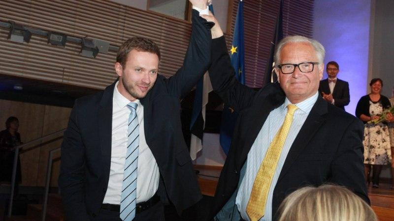 IRL OTSUSTAS: esimeheks valiti ülekaalukalt Margus Tsahkna
