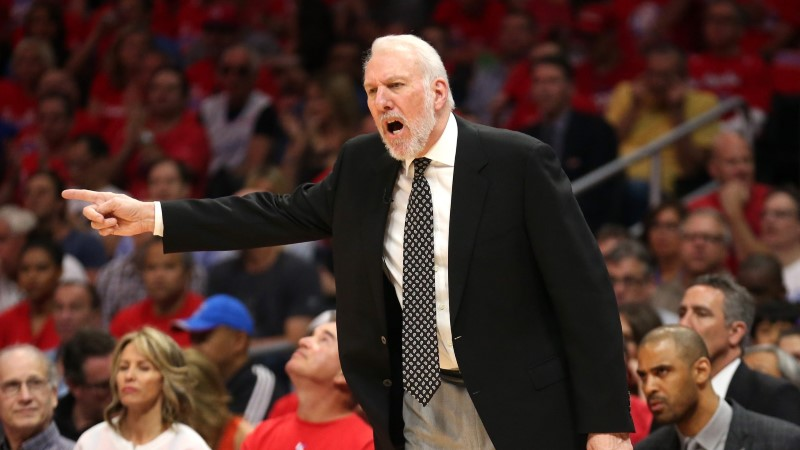 Aafrika NBA staare juhendab intrigeerivas näidismängus Gregg Popovich isiklikult