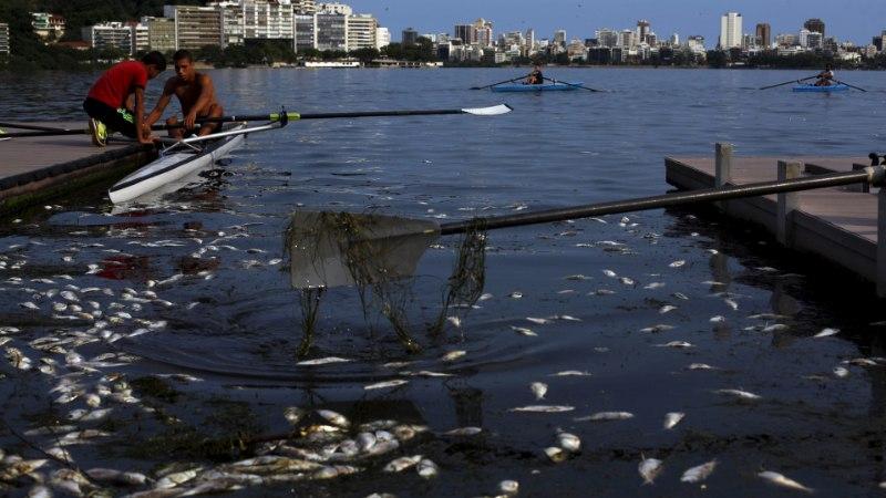 MIS JÄRGMISENA? Rio de Janeiro olümpiavesi mürgitas USA koondise