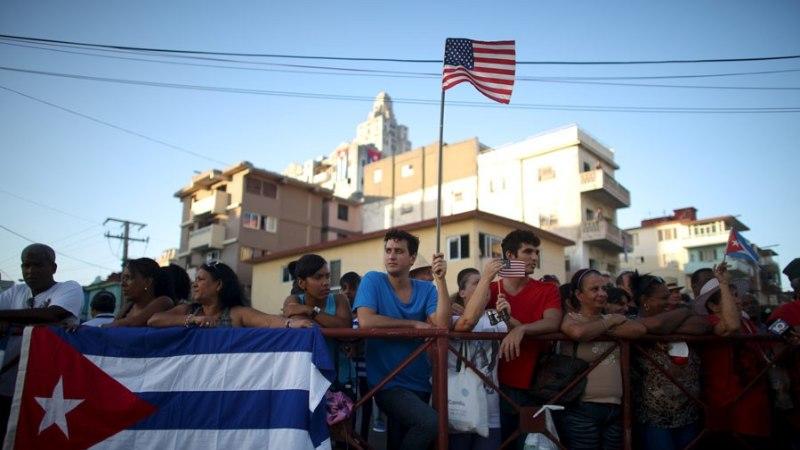 SUHETE SOOJENEMISE MÄRK: USA taasavas Kuubas saatkonna