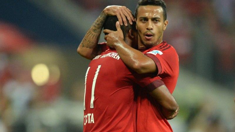 GALERII | Müncheni Bayern alustas liigahooaega tõelise jõudemonstratsiooniga