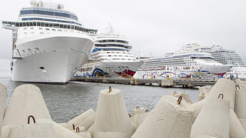 TURISTID TALLINNAS: kui oleksime laevaga Eestis lõksus, siis võtaksime Tallinnast viimast!