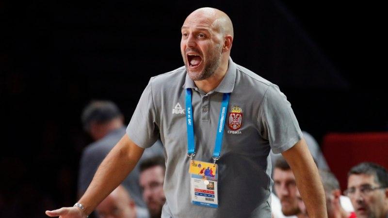 Serbia korvpallikoondise peatreener: FIBA ei soovi meid medalimängudes näha