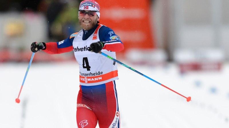 Kaks eestlast starti ei tulnud, norralased võtsid nelikvõidu