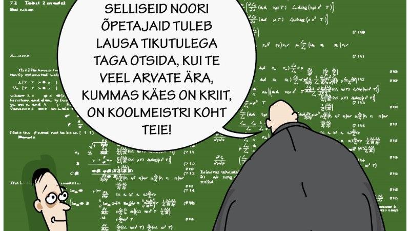 Karikatuur | Noor koolmeister