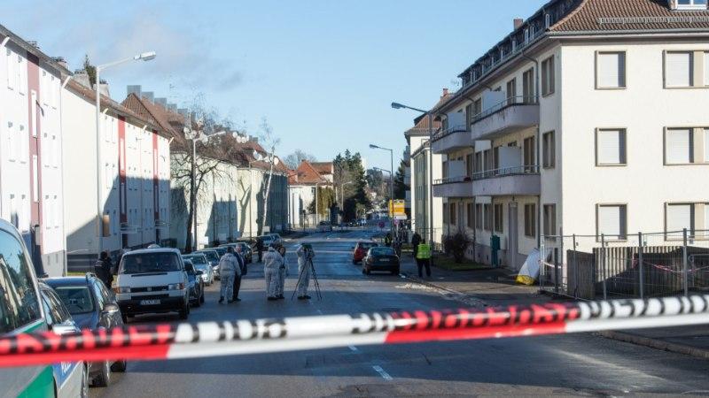 FOTOD | Lõuna-Saksamaa varjupaigataotlejate keskust visati granaadiga