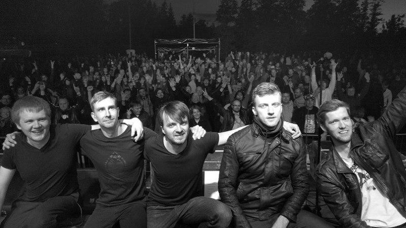 RAHA TULI KOKKU: Progebänd X-Panda andis fännide toel välja teise albumi