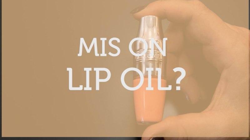 ILUKOOL   Mis asi on lip oil?