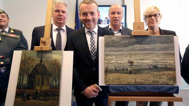 Itaalia politsei leidis 2002. aastal röövitud van Goghi maalid