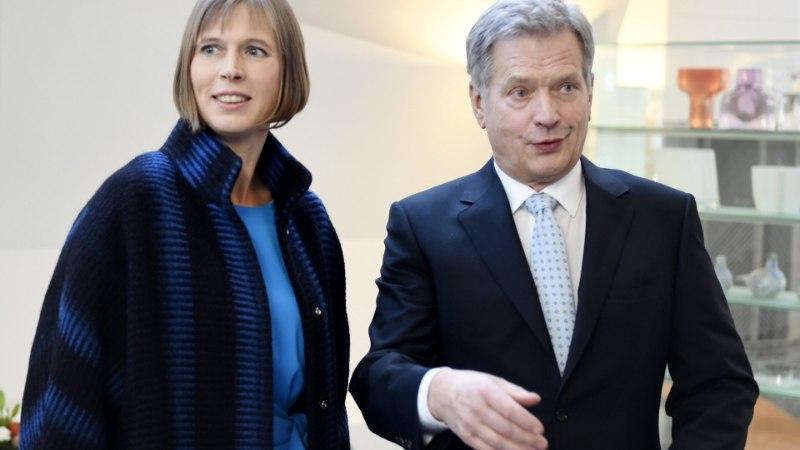 FOTOD | President Kersti Kaljulaid tutvumisvisiidil Soomes