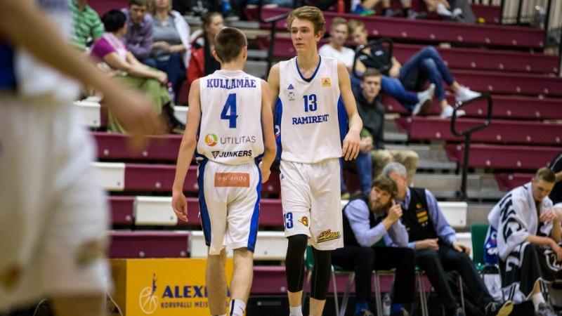 Eesti korvpalliliit soovib meie edukaimad noored Euroopa meistrivõistluste raames kodupubliku ette tuua