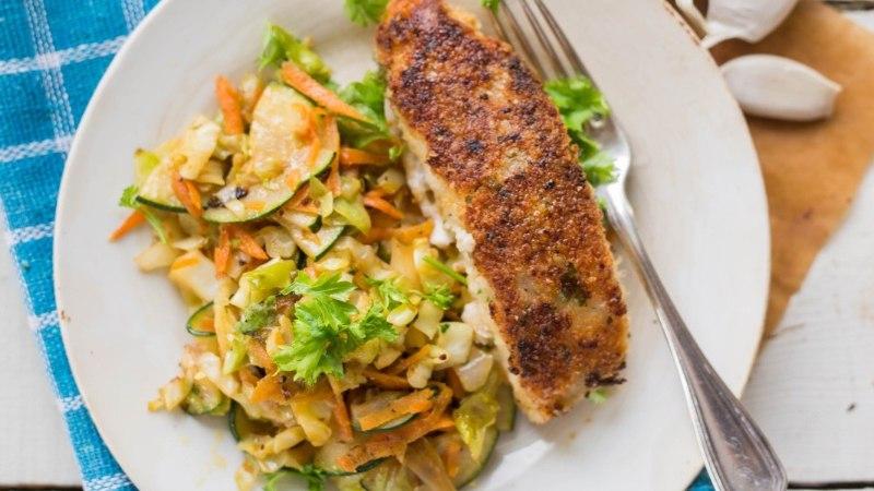 RETSEPT | Kiire ja maitsev õhtusöök: valge kala parmesanipaneeringus