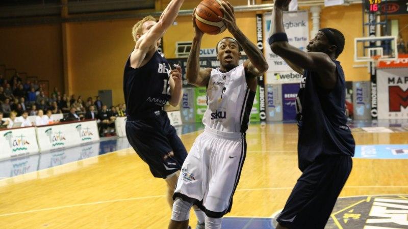 NII SEE JUHTUS | Sport 04.10: 25 pallikaotust teinud Tartu Ülikool kaotas Bakkeni vastu avakohtumise