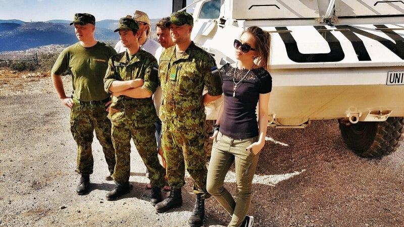 Grete Paia: patrullisin sõduritega Liibanoni kuumuses, raske kuulivest seljas