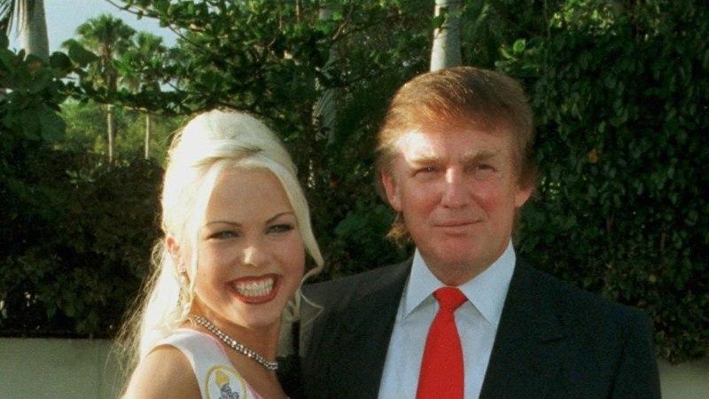 Donald Trumpiga kohtunud eksmiss Kristiina Heinmets-Aigro: ta oli kohmetu ja punetav, kui teda ümbritsesid sellised kaunid naisterahvad