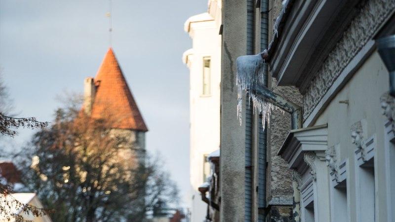 JÄÄPURIKAD VARITSEVAD: Tallinna ohtlikumad piirkonnad on vanalinn ja Põhja-Tallinn