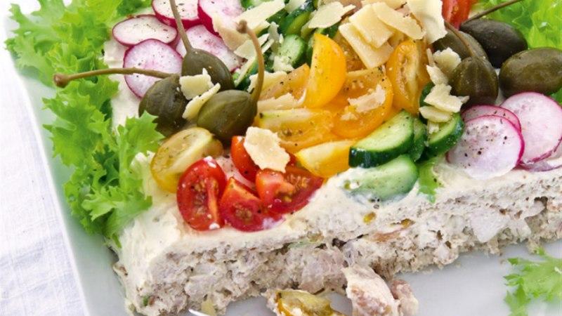 Caesari salatiga võileivatort