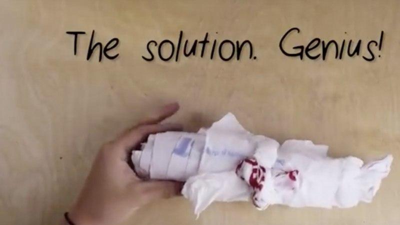 VIDEO! Geniaalne viis vabaneda kilekotikuhjast