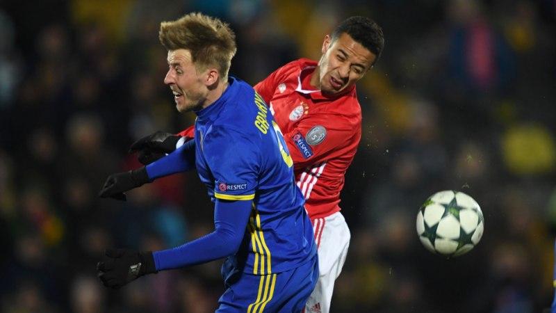 Bayern kaotas Venemaal ja andis alagrupi võidu Atletico kätesse