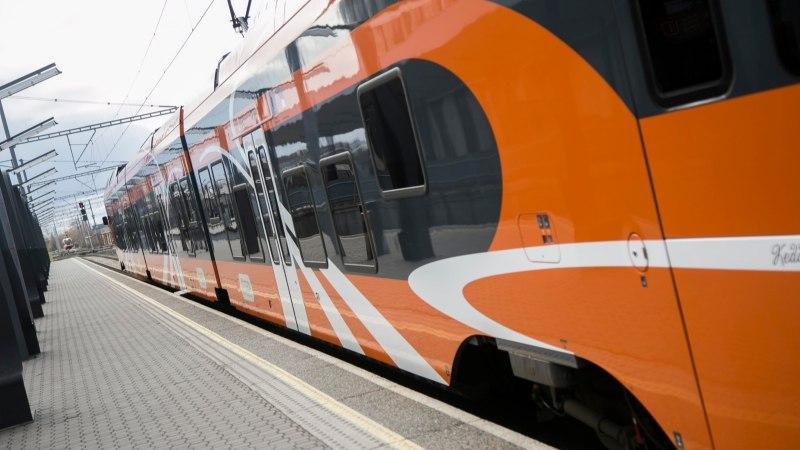 Elroni sõiduplaanid muutuvad, Tartusse saab rongiga kiiremini