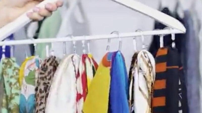 VIDEO! 3 nutikat trikki, kuidas riidekappi rohkem ruumi teha
