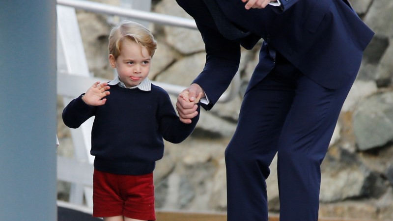 Ben Afflecki poeg sai prints George'i käest nohu