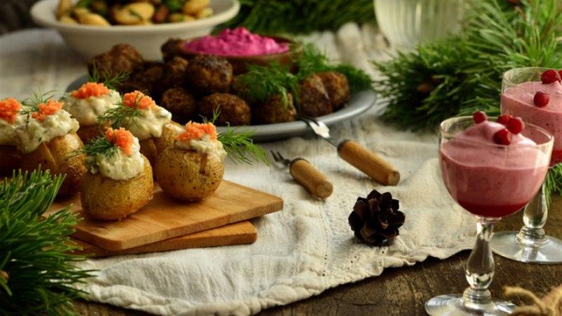 Mundris kartul heeringakaaviariga