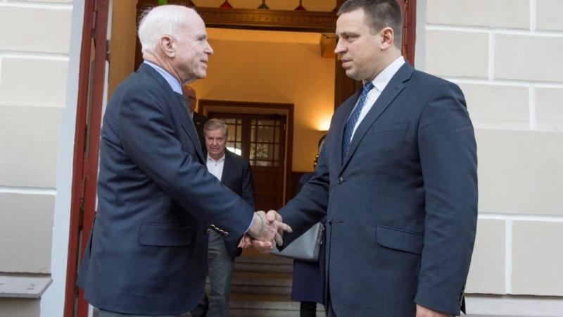 Ratas: USA on ja jääb Eestile üheks olulisemaks liitlaseks