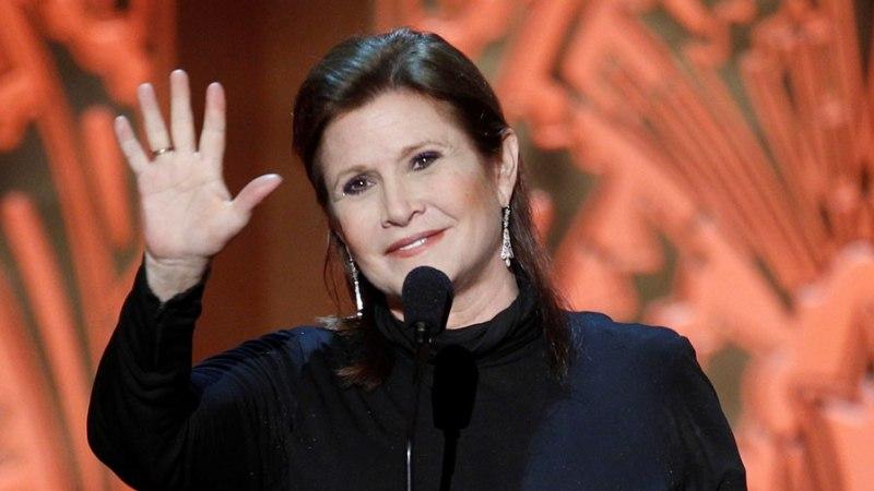 """Suri """"Tähesõdade"""" printsess Leia - Carrie Fisher"""
