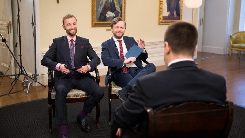 """ETV EI KARDA: nii peaministri intervjuu kui ka """"Ärapanija"""" laul on hea satiir ja meelelahutus"""