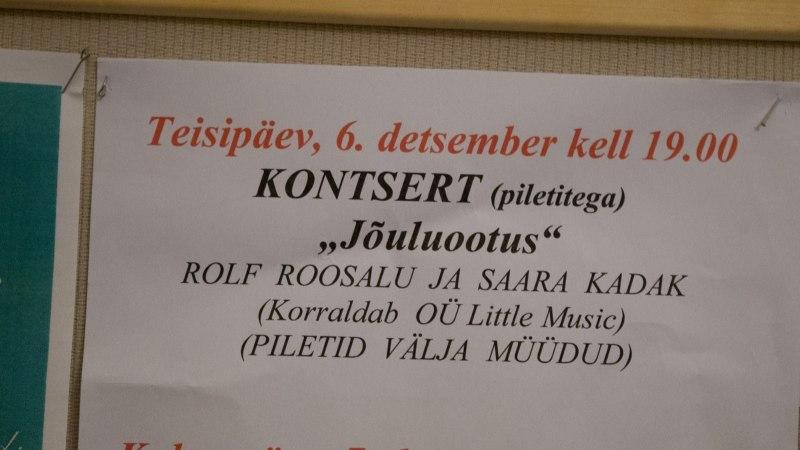 GALERII | Imeilus kontsert Tallinna Jaani kirikus - Rolf Roosalu ja Saara Kadak